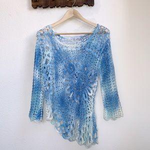 Tempo Paris | Ombré Crochet Top